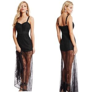 Ileanna Lace Gown by Marciano